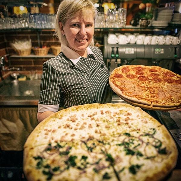 Member at Pizzeria Klamovka